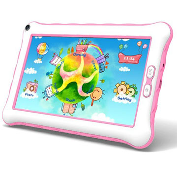 2014 New Design 7 inch Kids Tablet With Parents Control Dual Core Android 4.2