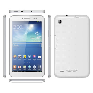High Quality 7 inch MTK6572 Dual Core 3G Tablet With Android 4.2 GPS Bluetooth 3G