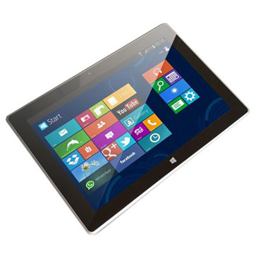 10.1 inch Inter Quad Core CPU IPS Capacitive Screen 2GB/32GB Dual OS Windows Android Tablet PC