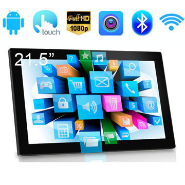 21.5 Inch RK3188(RK3288) Quad Core FULL HD 1080P Screen Wall Mounted Touch Screen Industrial Android Tablet